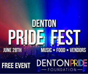 Denton Pride Fest - June 28